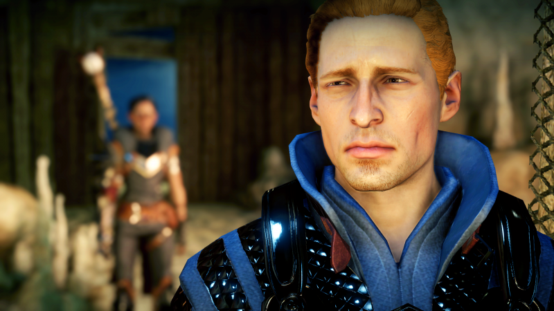 Alistair and Hawke
